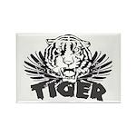 Tiger Rectangle Magnet (10 pack)