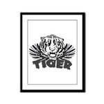 Tiger Framed Panel Print