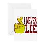 Lie Greeting Cards (Pk of 10)