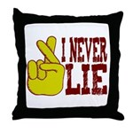 Lie Throw Pillow