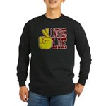 Lie Long Sleeve Dark T-Shirt