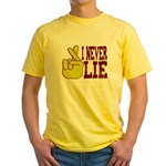 Lie Yellow T-Shirt