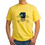 Boxing glow Yellow T-Shirt