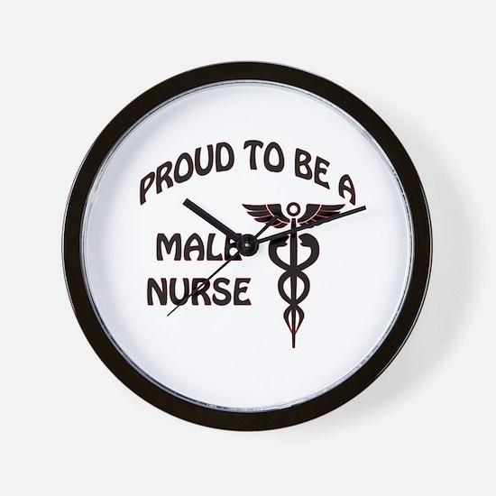 Unique Male nurse Wall Clock