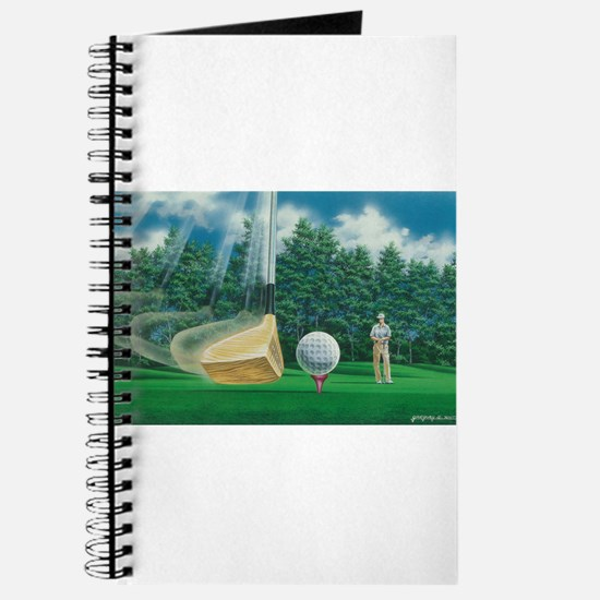 Fore! Golf Swing In Motion Journal