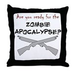 Are you ready for the zombie Throw Pillow