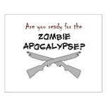 Are you ready for the zombie Small Poster