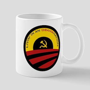 Livin' in an Obamanation Mug