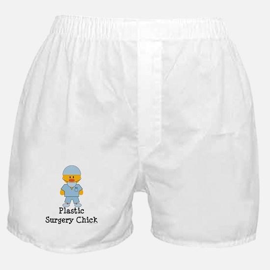 Plastic Surgery Chick Boxer Shorts
