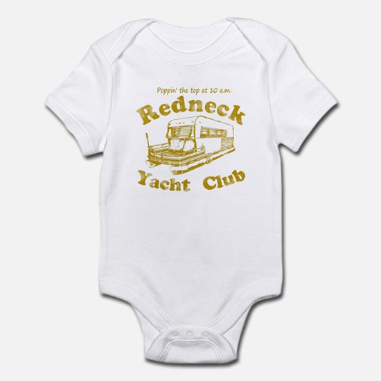 Poppin' the top at 10 a.m. Infant Bodysuit