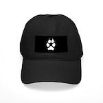 Coyote Track Pawprint Black Cap
