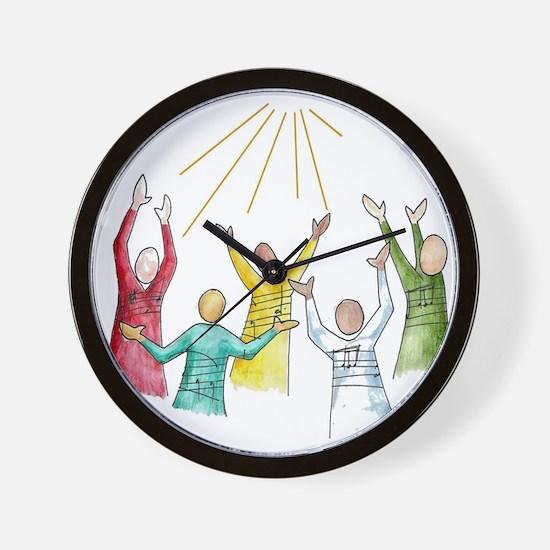 Gospel Wall Clock