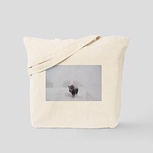 Majestic Buffalo Bull Tote Bag