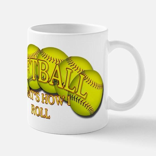 Softballs roll Mug