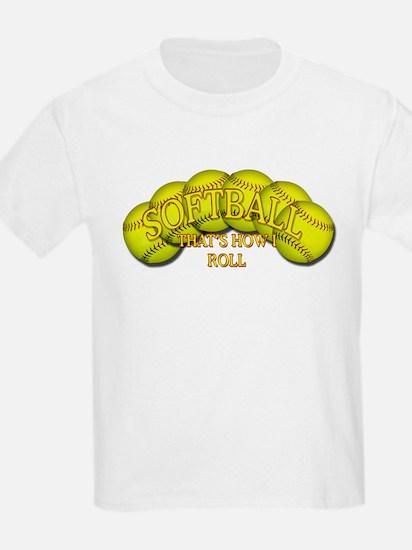 Softballs roll T-Shirt