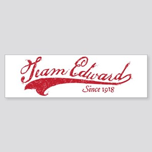 Team Edward Bumper Sticker