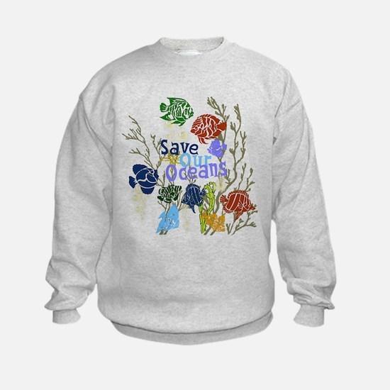Save the Oceans Sweatshirt