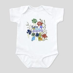 Save the Oceans Infant Bodysuit