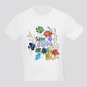 Save the Oceans Kids Light T-Shirt