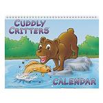 Cuddly Critters Wall Calendar