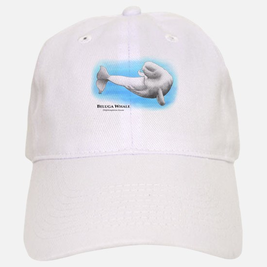 Beluga Whale Baseball Baseball Cap