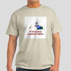 Angler Management Grey T-Shirt