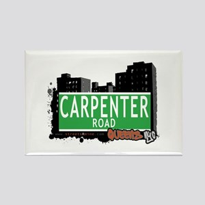 CARPENTER ROAD, QUEENS, NYC Rectangle Magnet