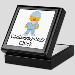 Otolaryngology Chick Keepsake Box