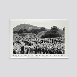 Black + White Tree Photograph Rectangle Magnet