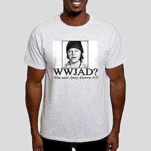 WWJAD? Light T-Shirt