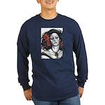 Holly Quinn Long Sleeve Dark T-Shirt