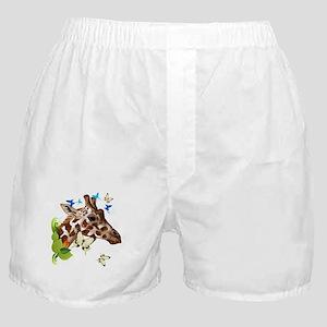 GIRAFFE and BUTTERFLIES Boxer Shorts