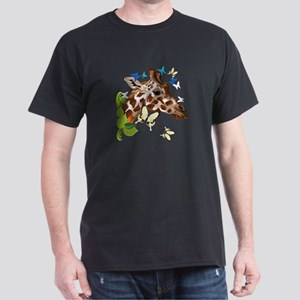 GIRAFFE and BUTTERFLIES T-Shirt