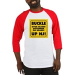 BUCKLE UP NJ! Baseball Jersey