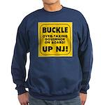 BUCKLE UP NJ! Sweatshirt (dark)