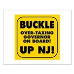 BUCKLE UP NJ! Small Poster