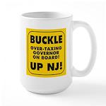 BUCKLE UP NJ! Large Mug