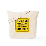BUCKLE UP NJ! Tote Bag