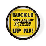 BUCKLE UP NJ! Wall Clock