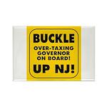 BUCKLE UP NJ! Rectangle Magnet (10 pack)