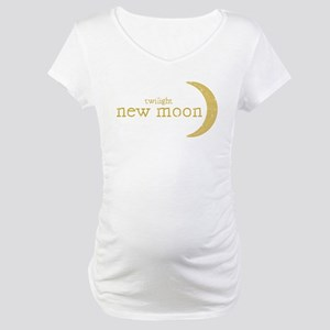 Twilight New Moon Rhinestone Maternity T-Shirt