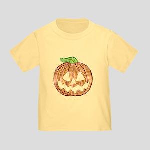 Printed Rhinestone Jackolantern Toddler T-Shirt