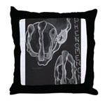 ICAR Throw Pillow