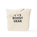 I <3 BOOST GEAR - Tote Bag