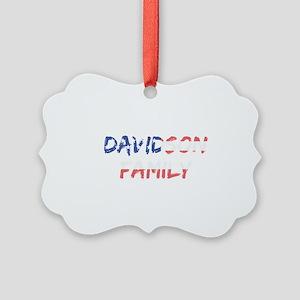 Davidson Family Picture Ornament