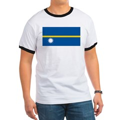 Nauru Flag T