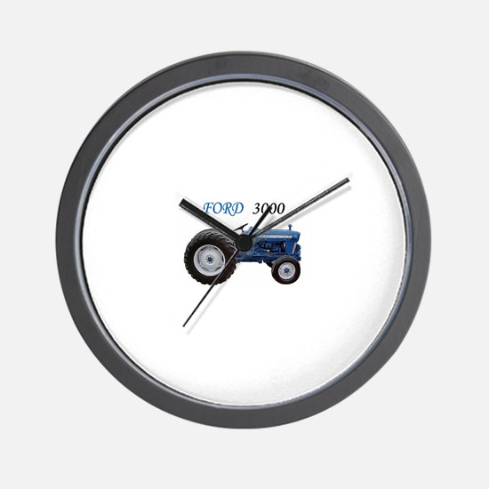 3000 Ford Wall Clock