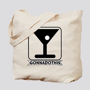 GONNADOTHIS.COM-DRINK MARTINI Tote Bag