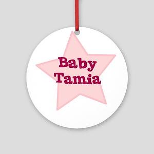 Baby Tamia Ornament (Round)