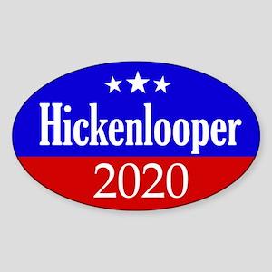 Hickenlooper 2020 Sticker (Oval)